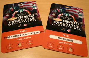 Press Passes to Freestyle World Cup